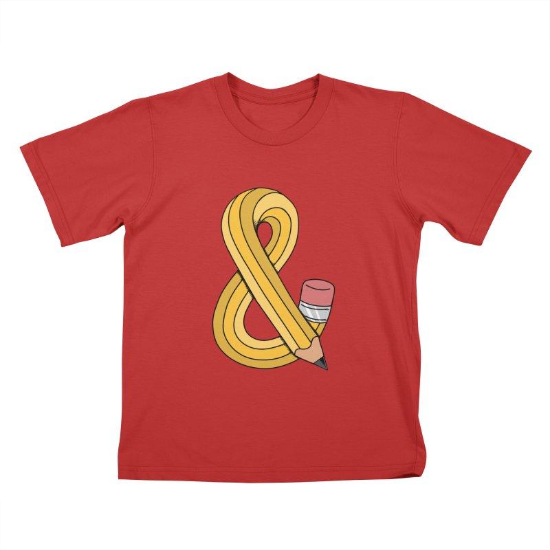 funny Kids T-Shirt by coffeeman's Artist Shop