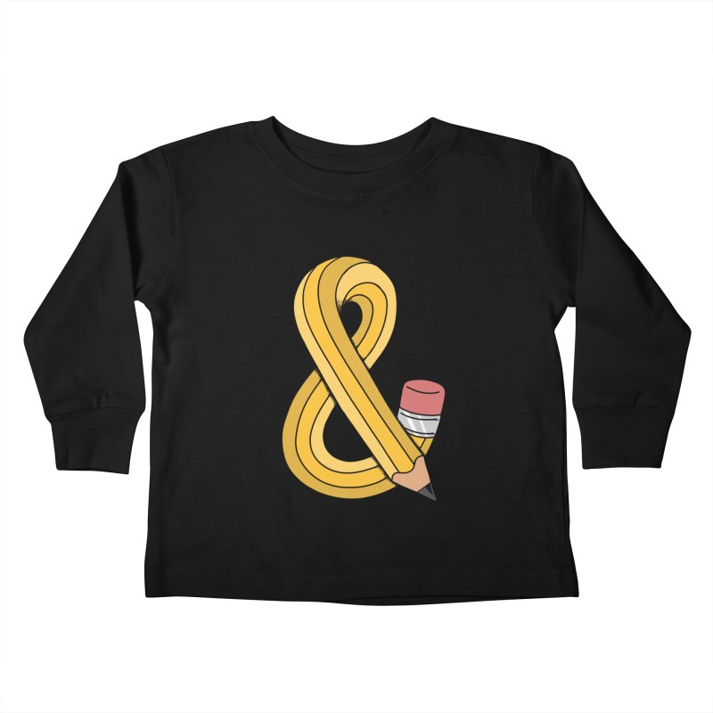 funny Kids Toddler Longsleeve T-Shirt by coffeeman's Artist Shop