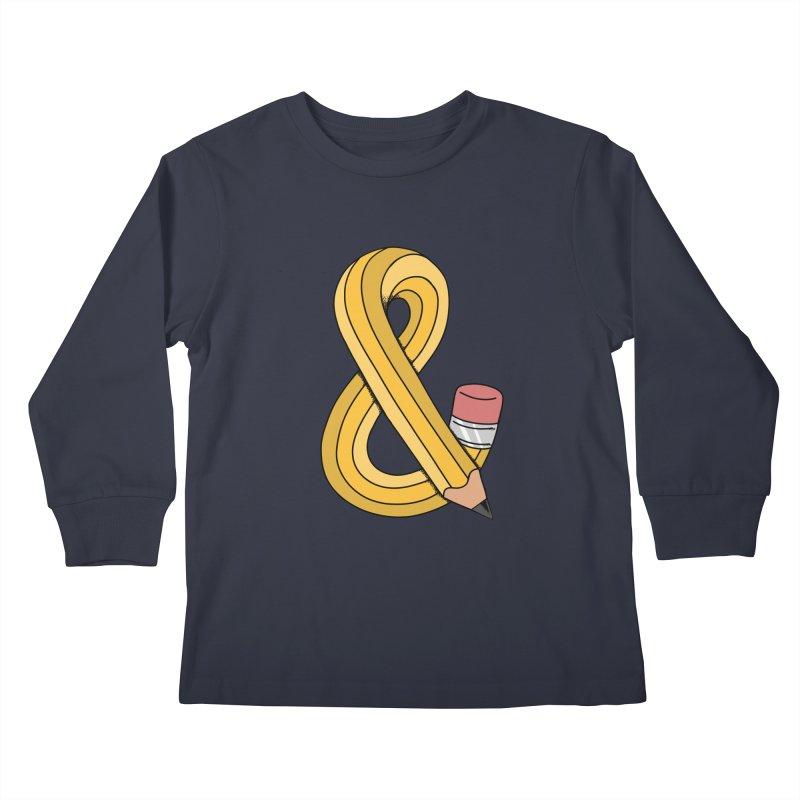 funny Kids Longsleeve T-Shirt by coffeeman's Artist Shop