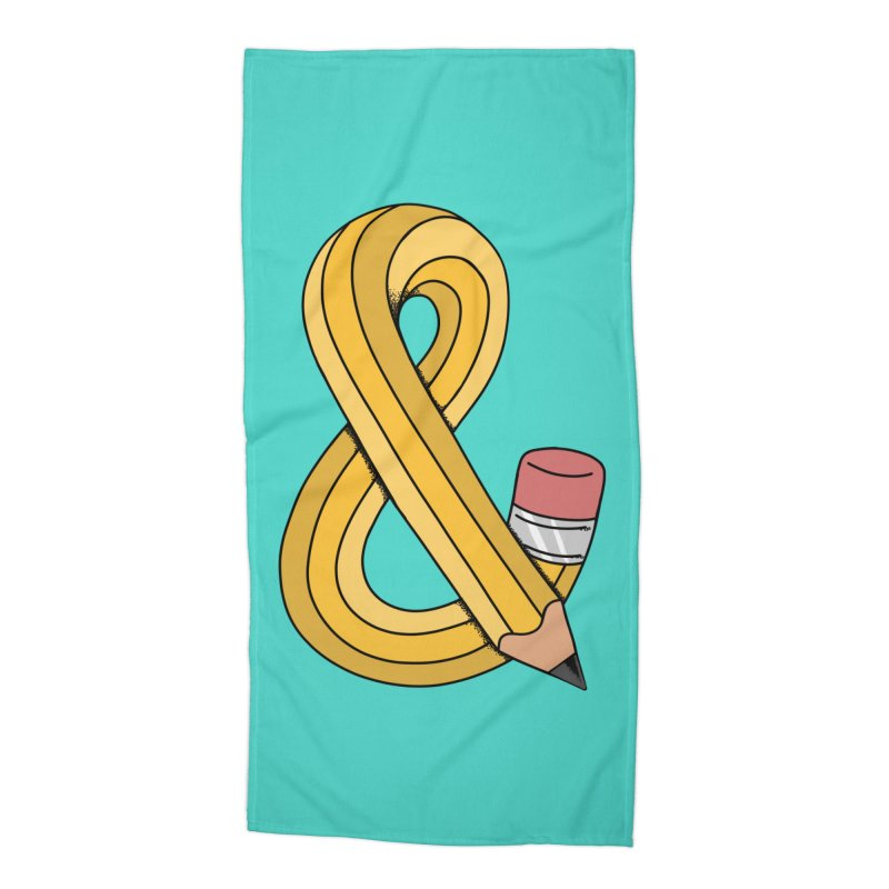 funny Accessories Beach Towel by coffeeman's Artist Shop