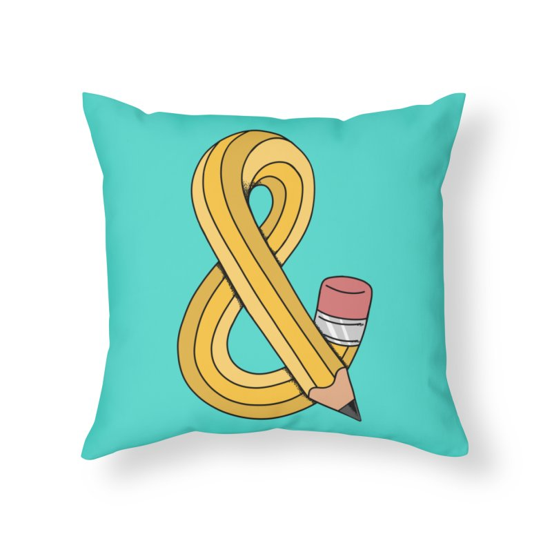 funny Home Throw Pillow by coffeeman's Artist Shop