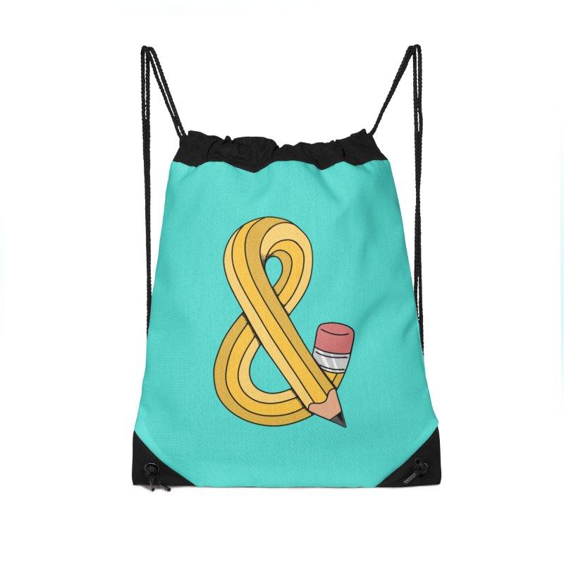 funny Accessories Drawstring Bag Bag by coffeeman's Artist Shop
