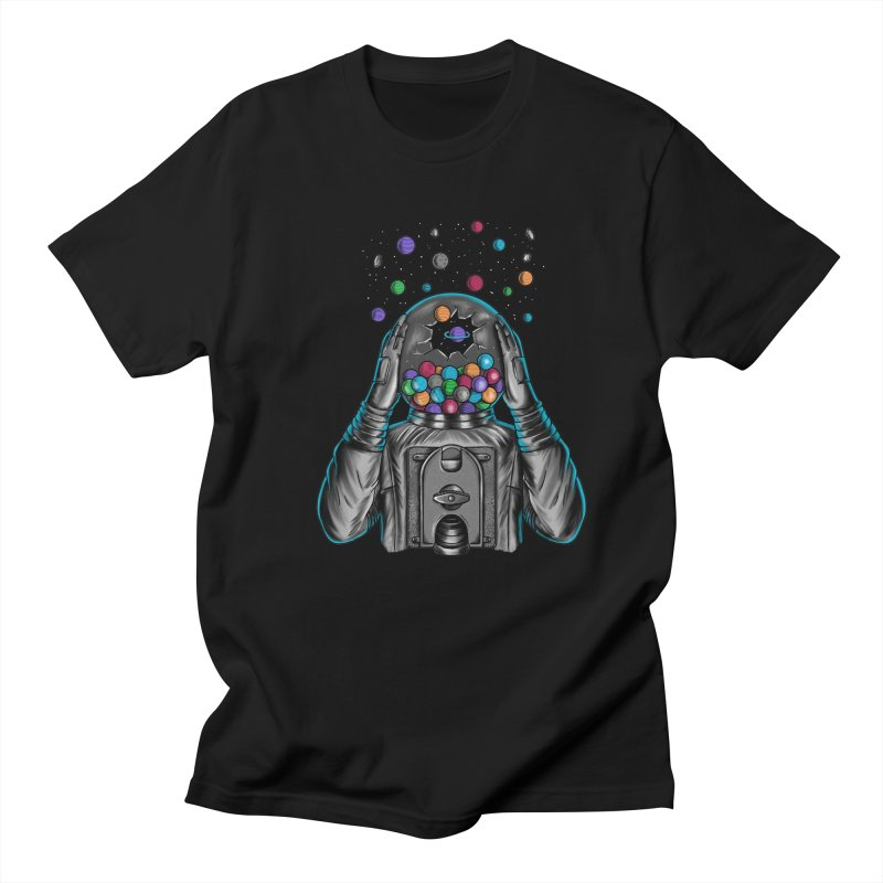 Space Women's Regular Unisex T-Shirt by coffeeman's Artist Shop