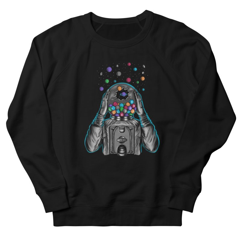 Space Women's French Terry Sweatshirt by coffeeman's Artist Shop