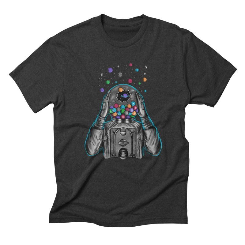 Space Men's Triblend T-Shirt by coffeeman's Artist Shop