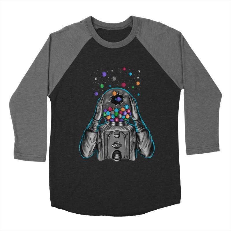 Space Men's Baseball Triblend Longsleeve T-Shirt by coffeeman's Artist Shop