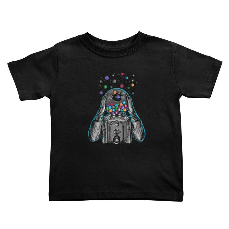 Space Kids Toddler T-Shirt by coffeeman's Artist Shop