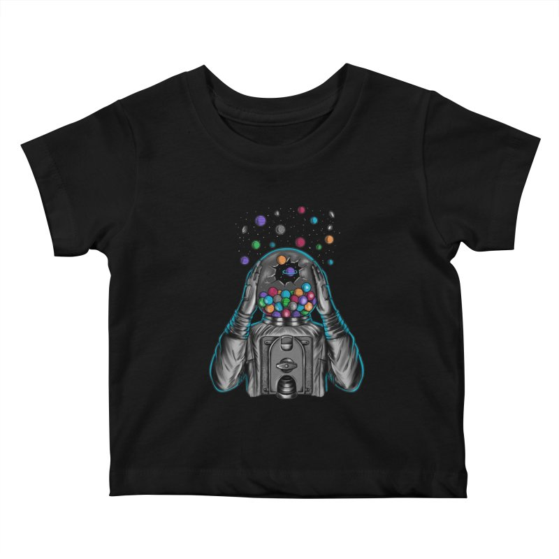 Space Kids Baby T-Shirt by coffeeman's Artist Shop