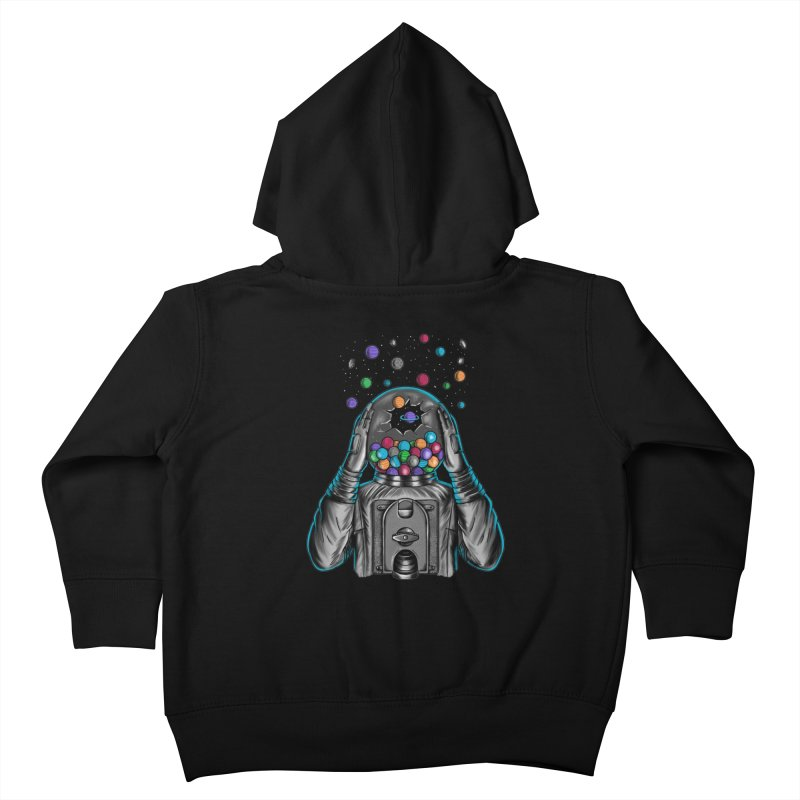 Space Kids Toddler Zip-Up Hoody by coffeeman's Artist Shop