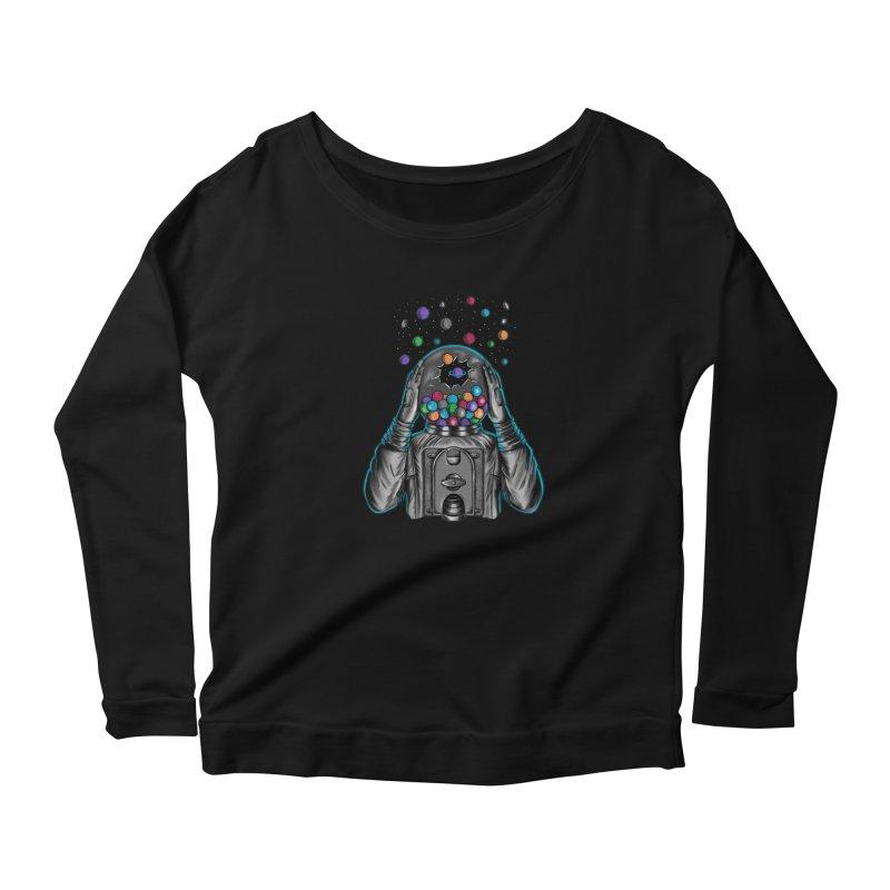 Space Women's Longsleeve T-Shirt by coffeeman's Artist Shop