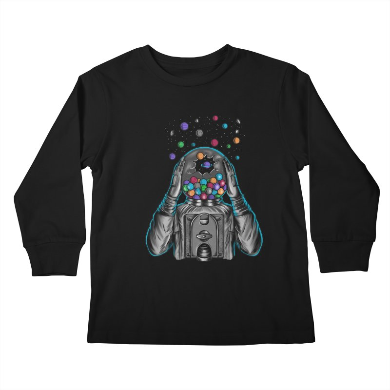 Space Kids Longsleeve T-Shirt by coffeeman's Artist Shop