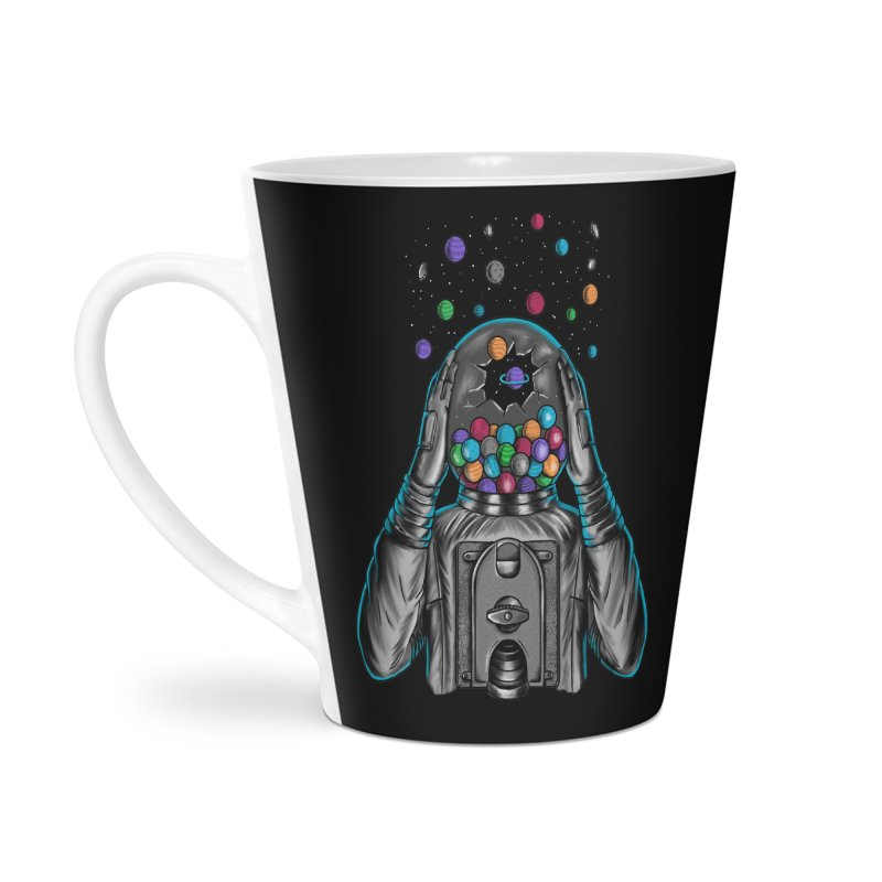 Space Accessories Latte Mug by coffeeman's Artist Shop
