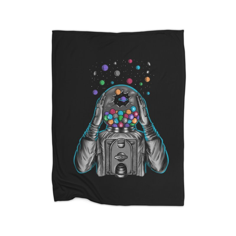 Space Home Blanket by coffeeman's Artist Shop