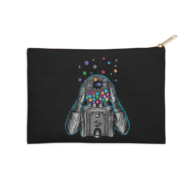 Space Accessories Zip Pouch by coffeeman's Artist Shop