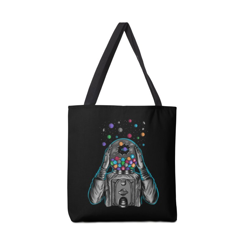 Space Accessories Tote Bag Bag by coffeeman's Artist Shop