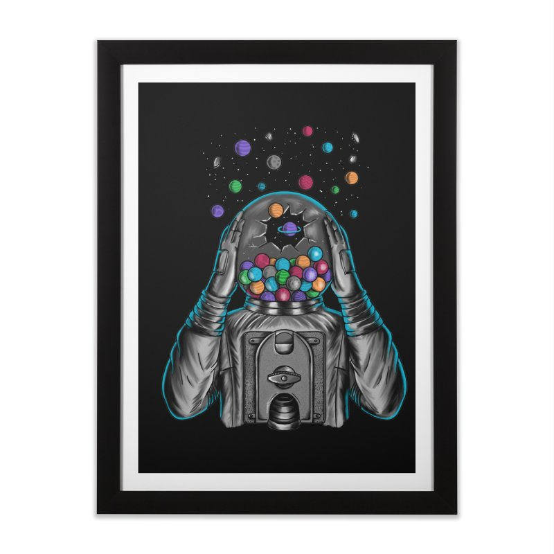 Space Home Framed Fine Art Print by coffeeman's Artist Shop