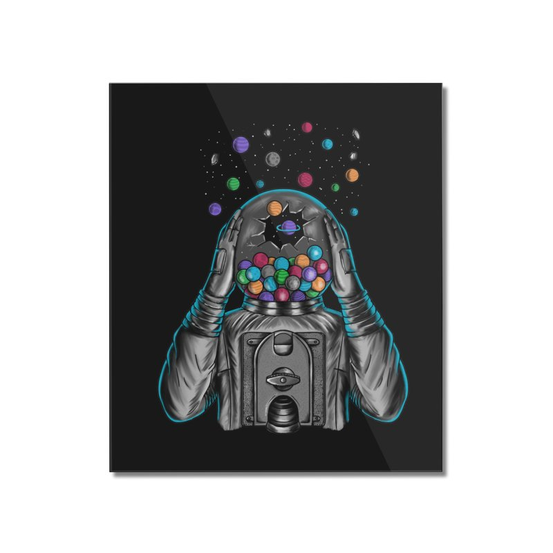 Space Home Mounted Acrylic Print by coffeeman's Artist Shop