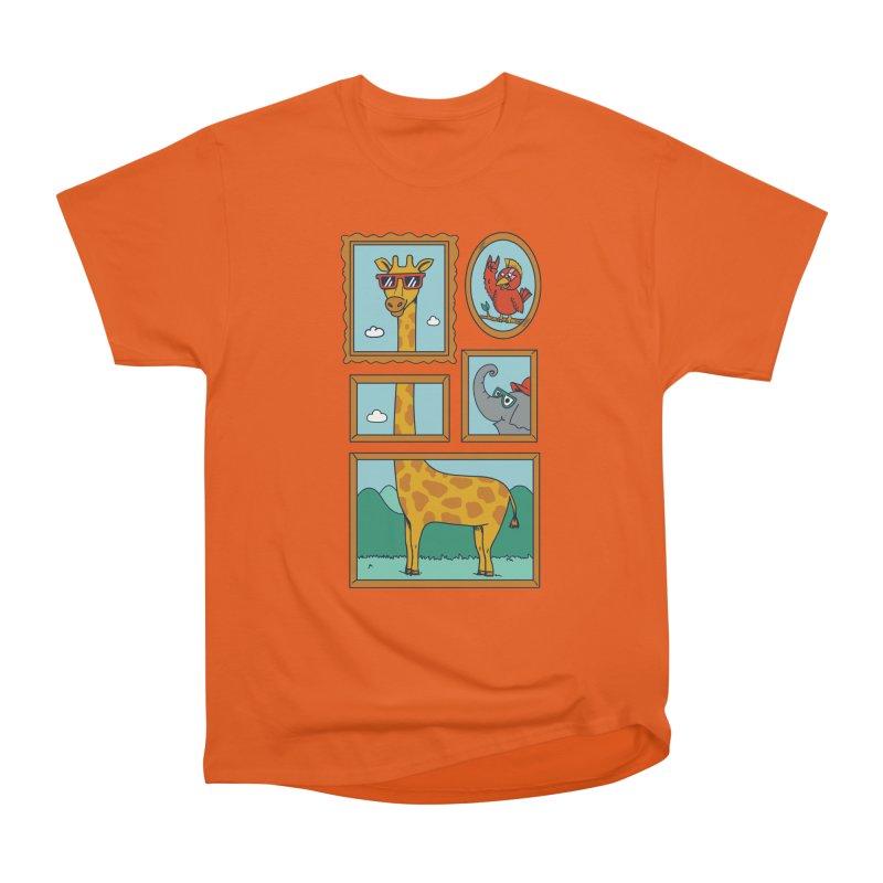 Animals Men's Heavyweight T-Shirt by coffeeman's Artist Shop