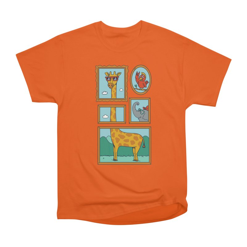 Animals Women's Heavyweight Unisex T-Shirt by coffeeman's Artist Shop