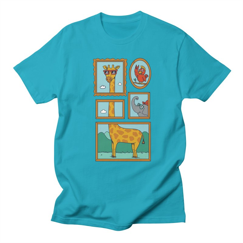 Animals Men's Regular T-Shirt by coffeeman's Artist Shop