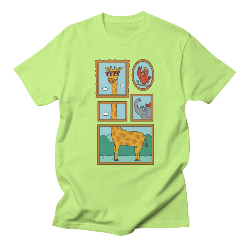 Animals Men's Regular T-Shirt by coffeeman's Artist Shop