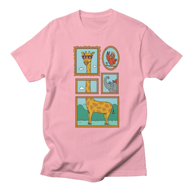 Animals Women's Regular Unisex T-Shirt by coffeeman's Artist Shop