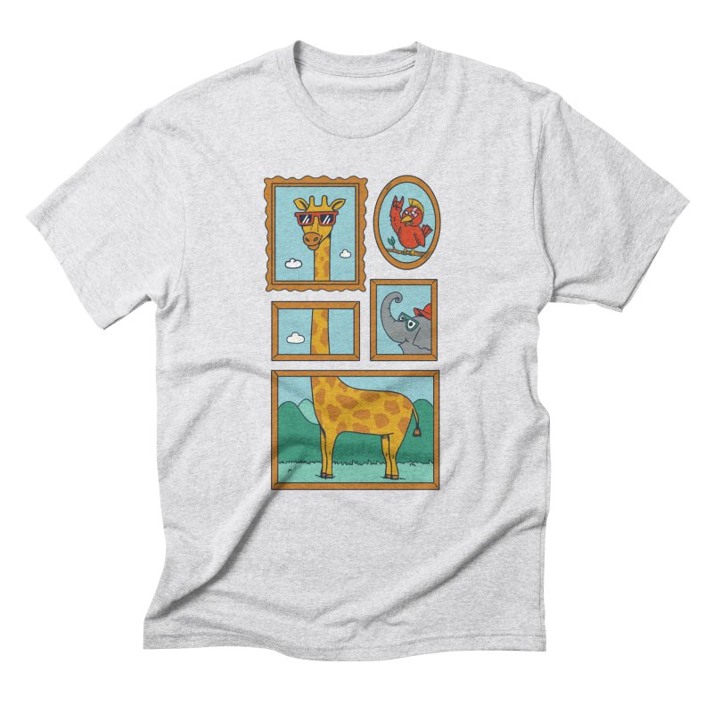Animals Men's Triblend T-Shirt by coffeeman's Artist Shop