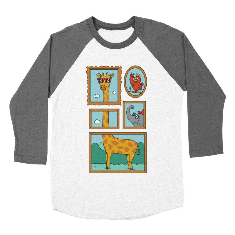 Animals Women's Baseball Triblend Longsleeve T-Shirt by coffeeman's Artist Shop