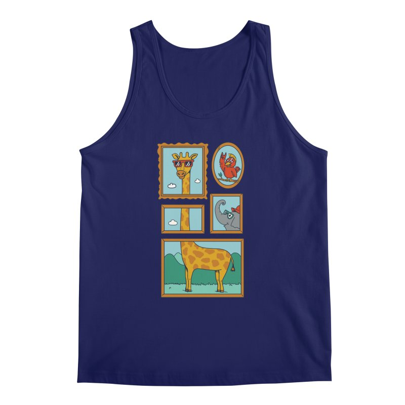 Animals Men's Regular Tank by coffeeman's Artist Shop