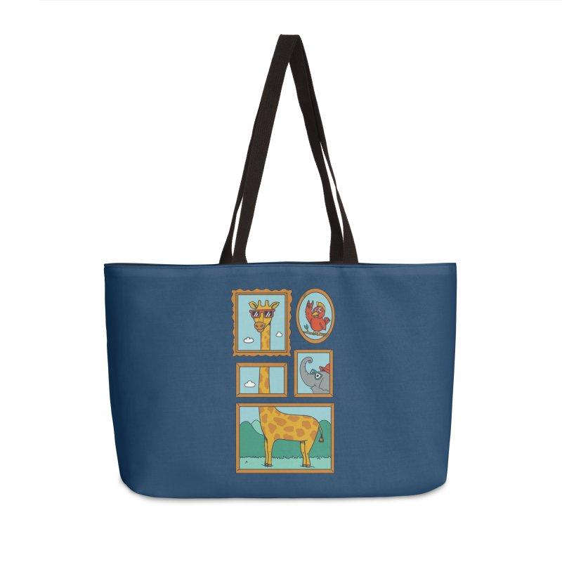 Animals Accessories Weekender Bag Bag by coffeeman's Artist Shop