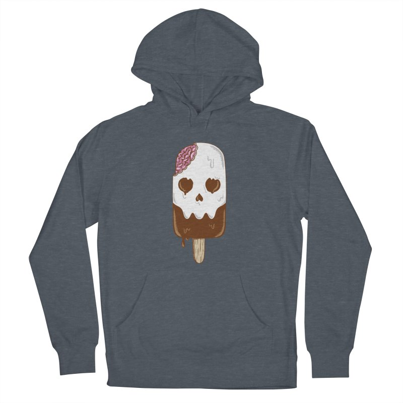 Skull Women's French Terry Pullover Hoody by coffeeman's Artist Shop