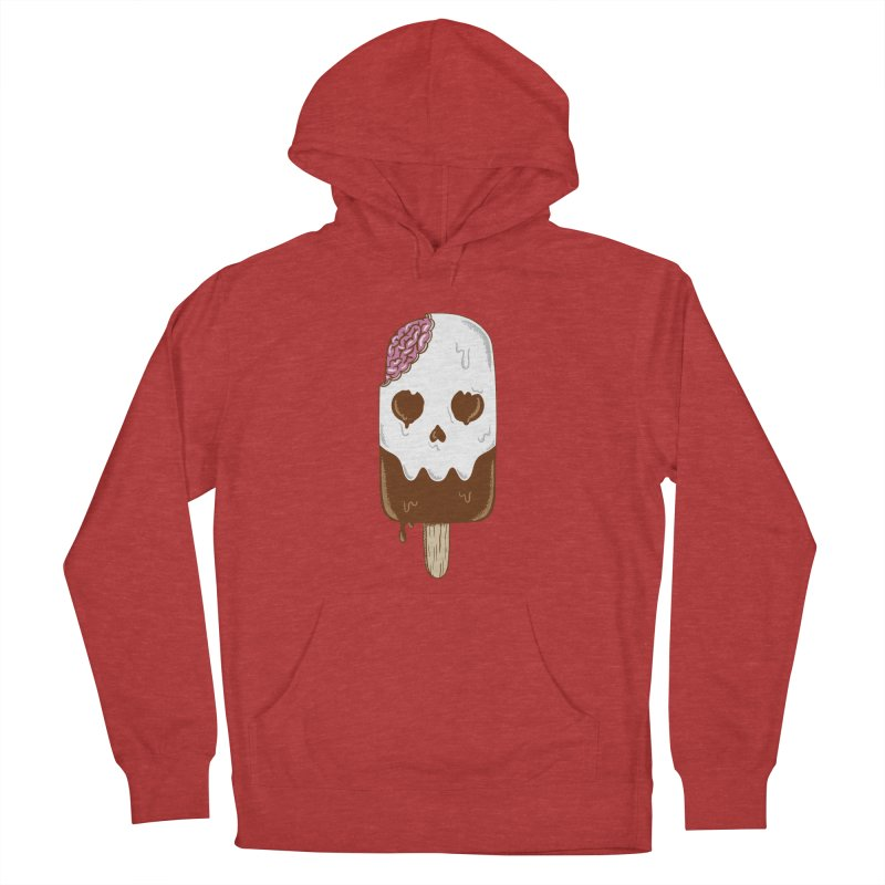 Skull Men's French Terry Pullover Hoody by coffeeman's Artist Shop