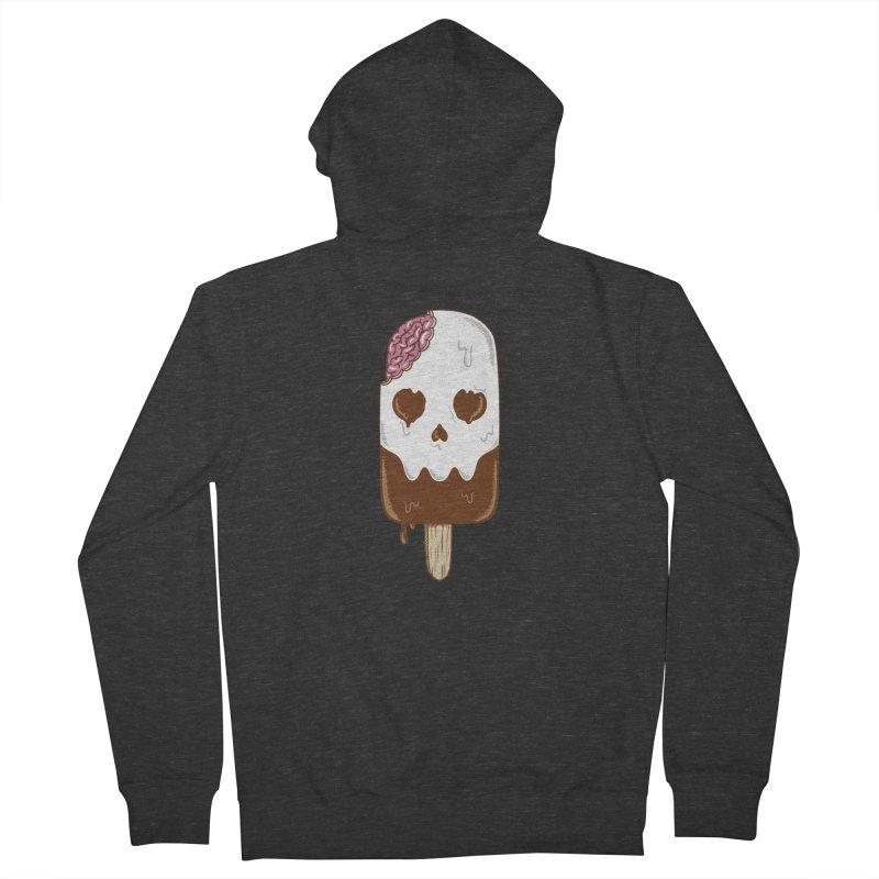 Skull Women's French Terry Zip-Up Hoody by coffeeman's Artist Shop