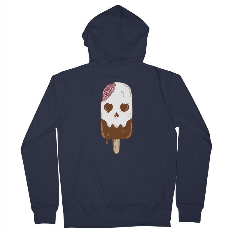 Skull Men's French Terry Zip-Up Hoody by coffeeman's Artist Shop