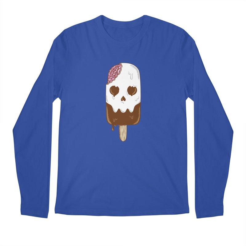 Skull Men's Regular Longsleeve T-Shirt by coffeeman's Artist Shop