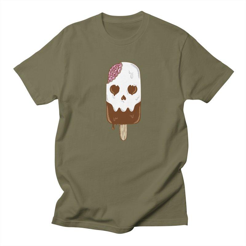 Skull Men's Regular T-Shirt by coffeeman's Artist Shop