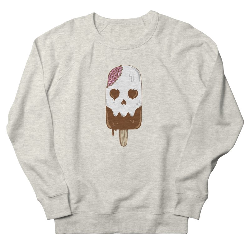 Skull Women's French Terry Sweatshirt by coffeeman's Artist Shop