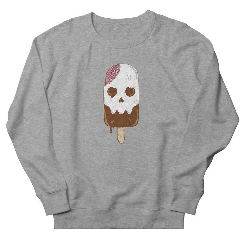 Skull Men's French Terry Sweatshirt by coffeeman's Artist Shop