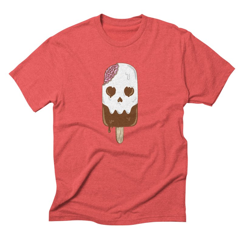Skull Men's Triblend T-Shirt by coffeeman's Artist Shop