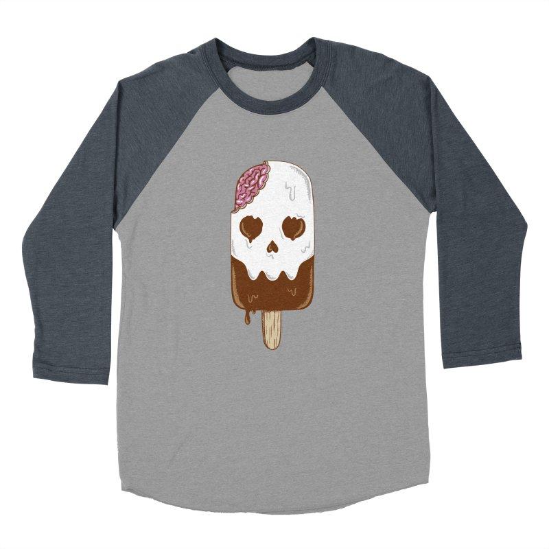 Skull Women's Baseball Triblend Longsleeve T-Shirt by coffeeman's Artist Shop