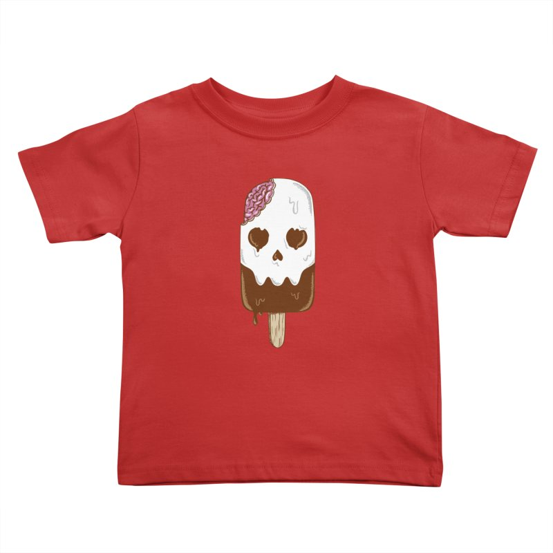 Skull Kids Toddler T-Shirt by coffeeman's Artist Shop