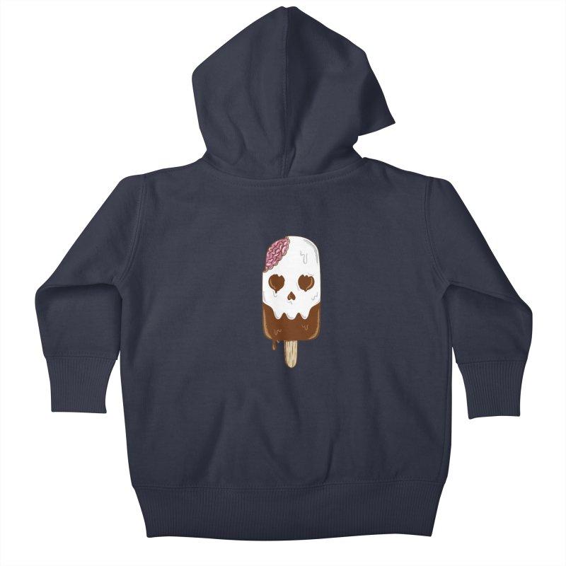 Skull Kids Baby Zip-Up Hoody by coffeeman's Artist Shop