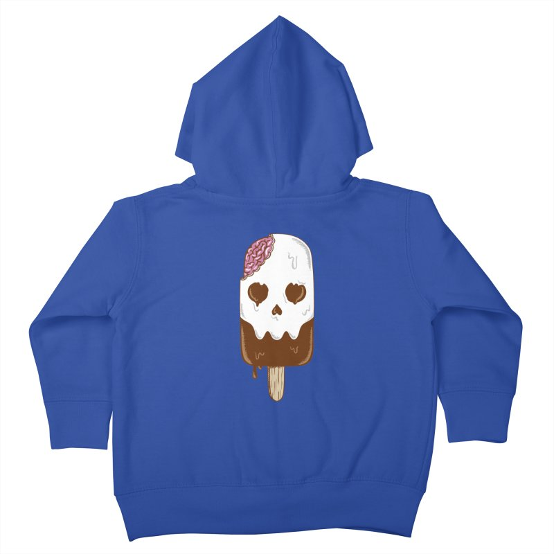 Skull Kids Toddler Zip-Up Hoody by coffeeman's Artist Shop