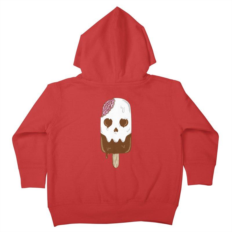 Skull Kids Toddler Zip-Up Hoody by coffeeman's Artist Shop