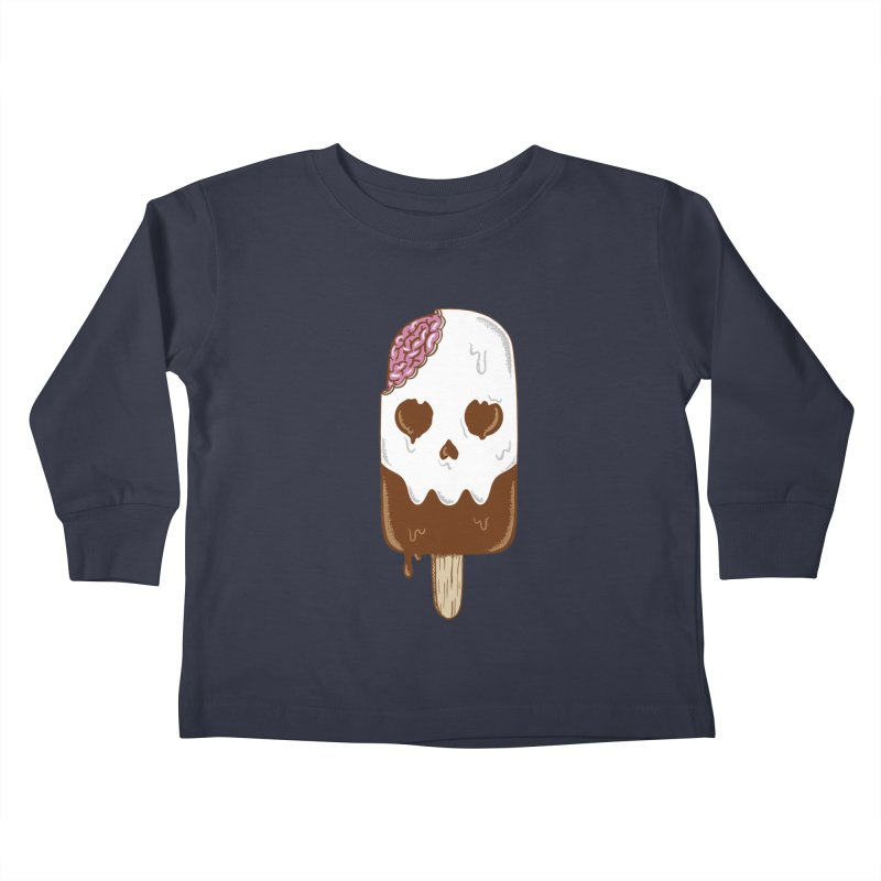 Skull Kids Toddler Longsleeve T-Shirt by coffeeman's Artist Shop