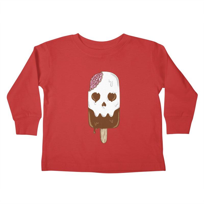 Skull Kids Toddler Longsleeve T-Shirt by coffeeman's Artist Shop