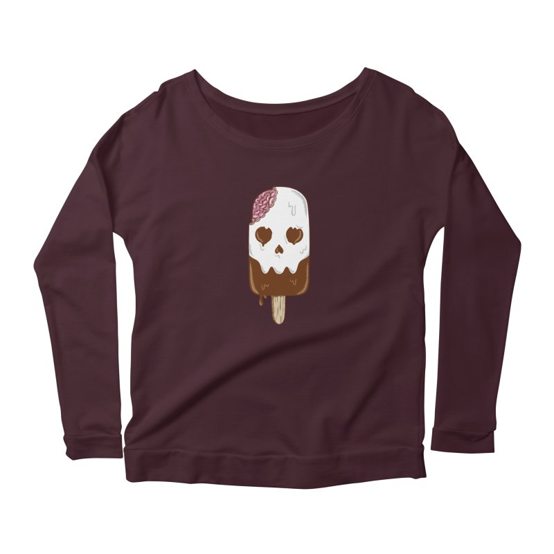 Skull Women's Longsleeve T-Shirt by coffeeman's Artist Shop