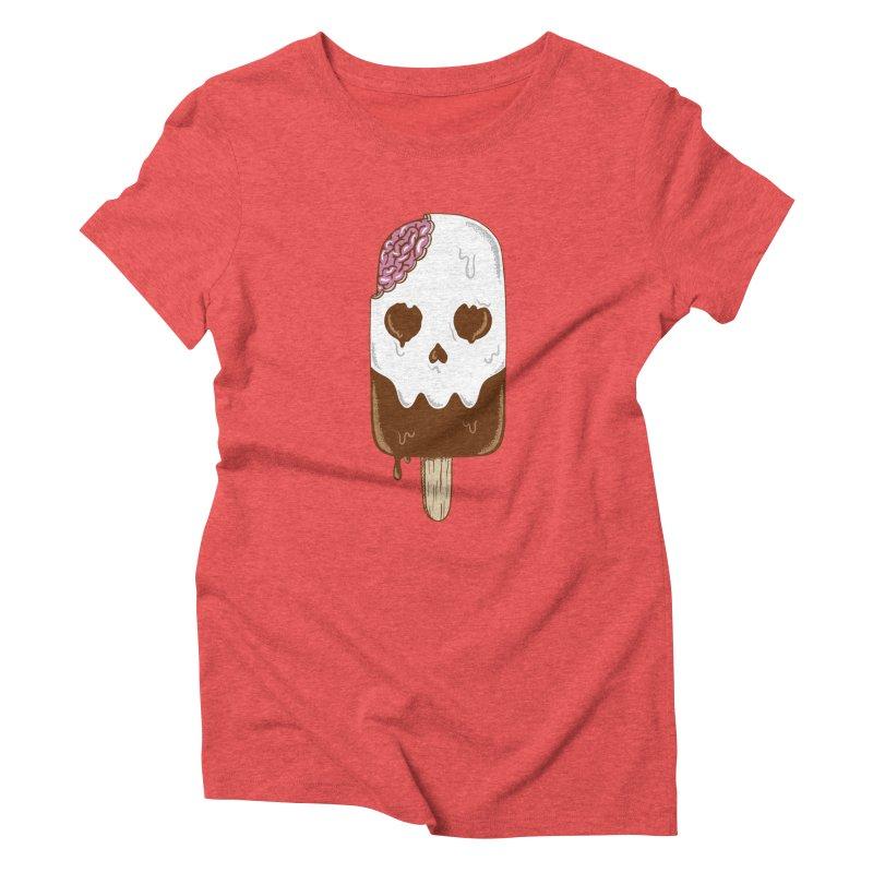 Skull Women's Triblend T-Shirt by coffeeman's Artist Shop