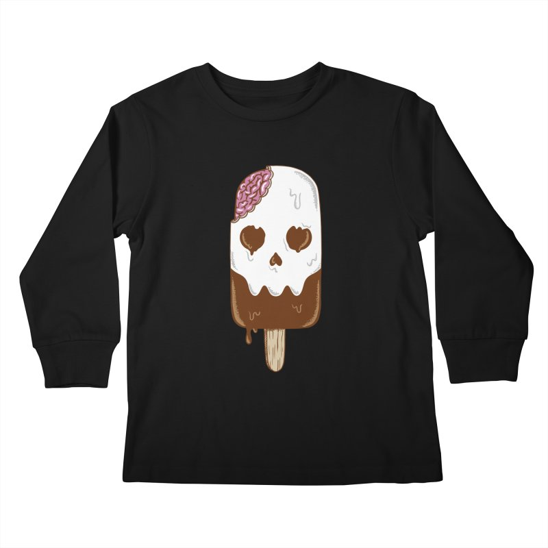 Skull Kids Longsleeve T-Shirt by coffeeman's Artist Shop