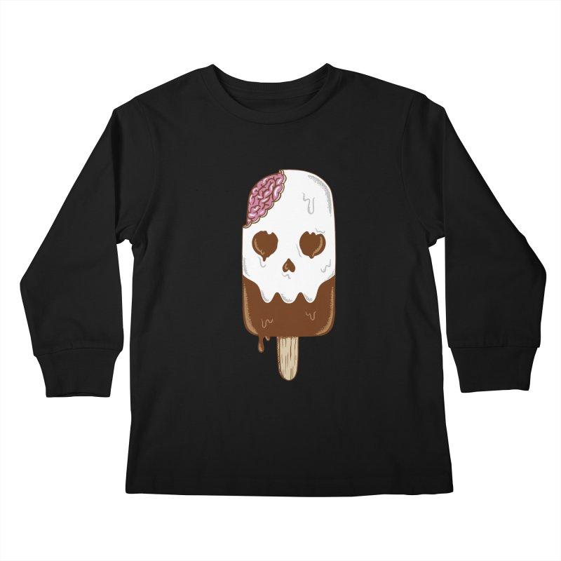 Skull Kids Longsleeve T-Shirt by coffeeman's Artist Shop